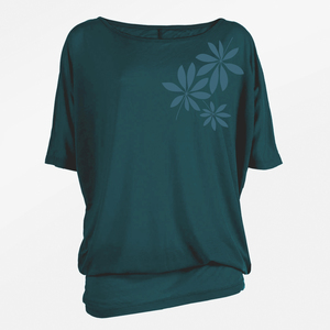 T-Shirt Relax Plants Tropical Leaves - GreenBomb