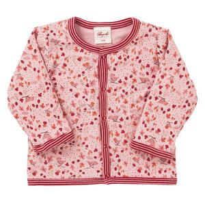 Mädchen Wendejacke rosa bedruckt Bio Baumwolle - People Wear Organic