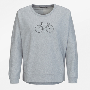 Sweatshirt Slack Bike Black - GreenBomb
