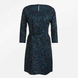 Dress Bland Tropical Leaves - GreenBomb