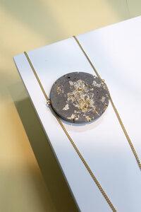 Beton Halskette AMAZONIA   Grey Gold - Concrete Jungle   Betonmanufaktur