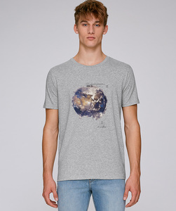 LIMITED EDITION / T-Shirt mit Motiv - Earth - Kultgut