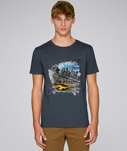 LIMITED EDITION / T-Shirt mit Motiv - Manhatten - Kultgut