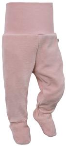 Nicki-Baby-Hose mit Fuß, 100% Bio-Baumwolle - luftagoon