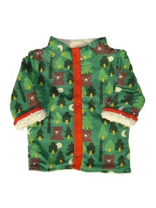 Baby und Kinder Wendejacke gefüttert Wald Bio Little Green Radicals - Little Green Radicals