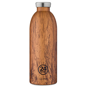 Edelstahl Thermosflasche Sequoia Wood - 24bottles