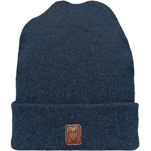 Mütze - Beanie organic wool - Insigna Blue - KnowledgeCotton Apparel
