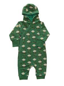 Gemütlicher Mädchen Anzug lila Herbstwald u. grün Regen kbA Baumwolle Little Green Radicals - Little Green Radicals