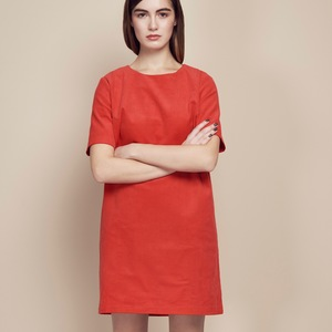 Kleid KAITO Kord rot - JAN N JUNE