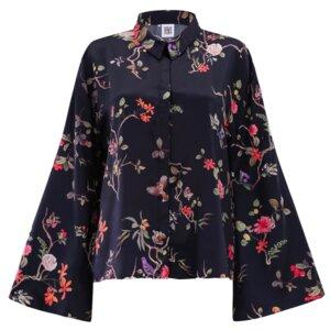 Bluse LIEN mit floralem Print - JAN N JUNE