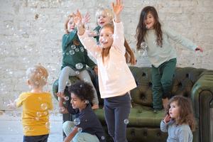 Orbasics Play-all-day Leggings - Kinder Leggings aus weichster Bio Baumwolle - Orbasics