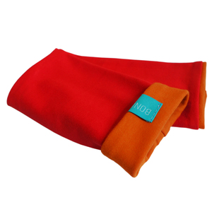 Armstulpen rot/zimt - bingabonga
