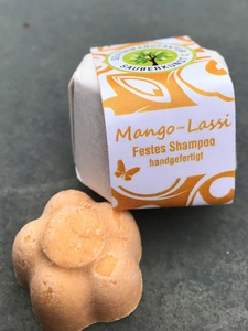 Mango Lassi (festes Shampoo)  - Sauberkunst