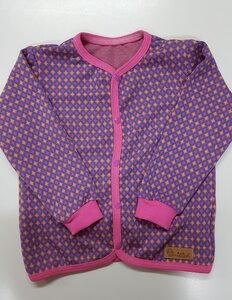 Babyjäckchen Criss-Cross pink-bunt - Omilich
