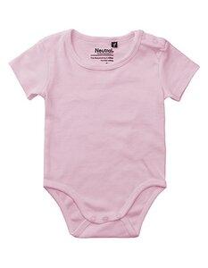 Baby Wickelbody Strampler Kurzarm - Neutral