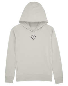 Kuscheliger Damen Hoodie - Make Love  - Human Family