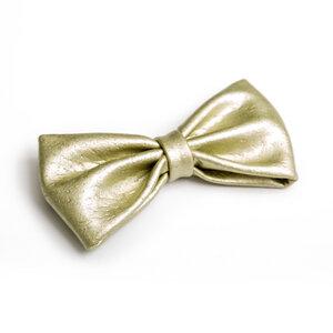 Korkfliege METALLIC Gold/Silber - anna dezet