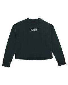Damen Crop Sweatshirt 'Realize - Freedom'  - Human Family