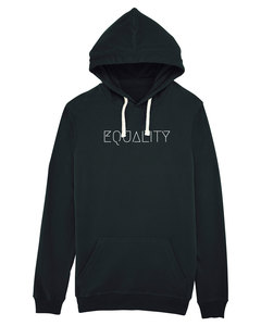 "Bio Unisex Hoodie - Enjoy ""Equality"" - Human Family"
