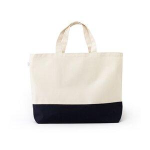 Große plastikfreie Einkaufstasche aus Baumwolle - dans le sac