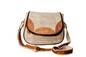 HH Handtasche MAHILA klein aus Bio-Hanf - Himal Hemp