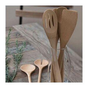 Bambus Holz Küchenhelferset 4-teilig - Bambu Essentional Organic Serie - Bambu