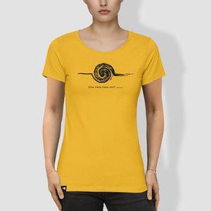 """Damen T-Shirt, """"Störe meine Kreise nicht"""" - little kiwi"""