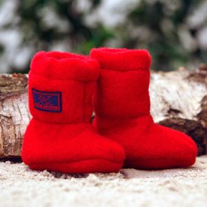 Baby Stiefelchen Bio Schurwoll-Fleece - Pickapooh