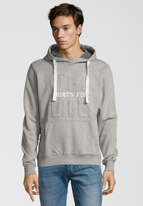 Simon Sweat Hoody - grey mel - SHIRTS FOR LIFE