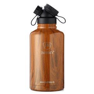 JuNiki´s Edelstahl-Thermosflasche 1,9L - Dekore in Holz- & Steinoptik - JN JuNiki's