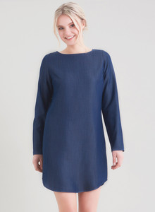 Kleid aus Tencel® Denim - ORGANICATION