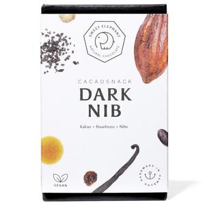 Schokoladen-Snack Dark Nib - Sweet Elephant