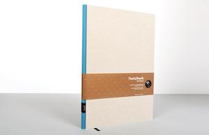 Design Notizbuch DIN A4 - Grau - tyyp