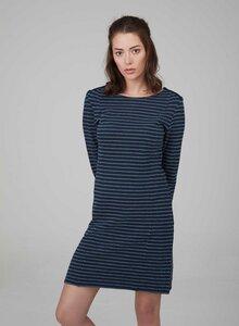 Langarm Kleid mit Streifen -Look aus 100% Bio Baumwolle - ORGANICATION