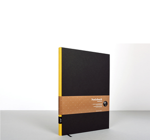 Design Notizbuch DIN A4 - Schwarz - tyyp