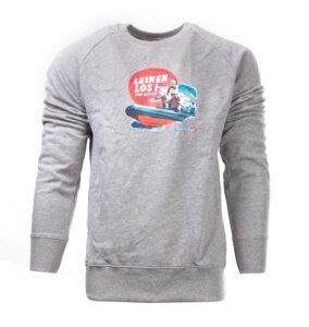 Leinenlos Herren Organic cotton Pullover - MISSION LIFELINE