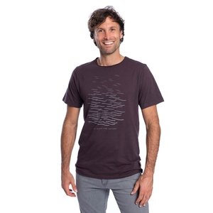 Lakeland T-Shirt Aubergine Flamé - bleed