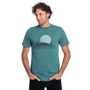 Fichtelfornia T-Shirt Dunkelgrün - bleed