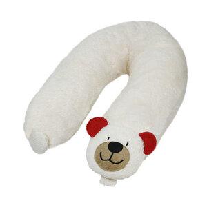 Stillkissen Teddy mit Dinkelspelz gefüllt (rot) - Efie