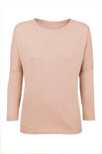 Basic Shirt 3/4 Arm aus Bio-Baumwolle - LUXAA