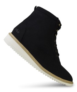 Desert High / Schwarz Vegan / Ripplesohle - ekn footwear