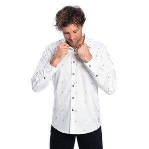 Woodruff Hemd Weiß - bleed