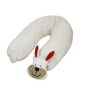 Stillkissen Hase mit Dinkelspelz gefüllt   - Efie
