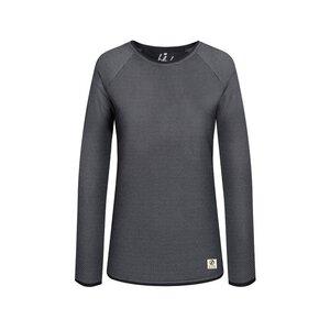 Honeycombed Sweater Damen Grau - bleed