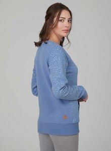 Allover print sweatshirt aus Bio Baumwolle - ORGANICATION