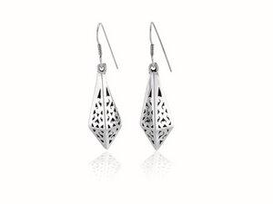 Ohrringe Silber Stern-Ohrhänger fein handmade sustainable Fair-Trade - pakilia