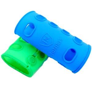JuNiki's Zubehör: Hochwertige farbige Silikonhüllen für Glasflaschen - JN JuNiki's