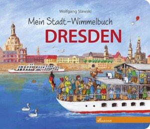 Dresden Pappbilderbuch mein Stadt Wimmelbuch - Willegoos Verlag