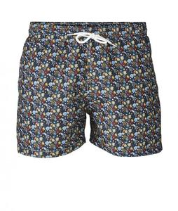 Swim Shorts W/ All Over Print - KnowledgeCotton Apparel