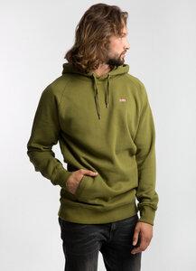 BASIC Machu Picchu Hoodie GREEN - merijula